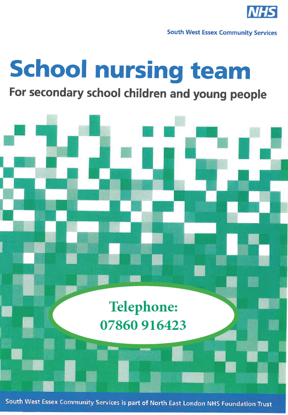 School Nursing Team updated number