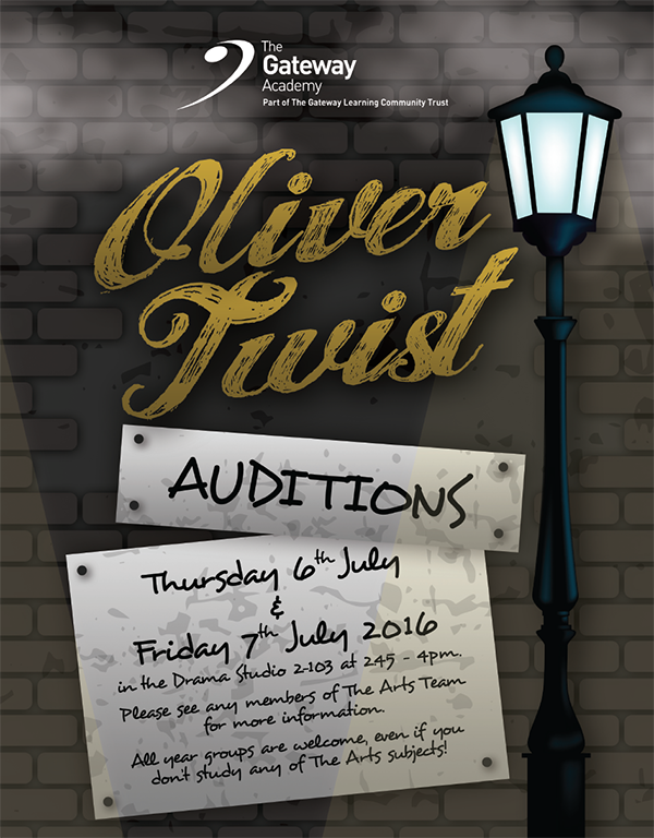 Oliver Auditions