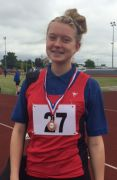 GA Maisy Webb Bronze High Jump at District Athletics