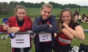 GA Tegan Barwick, Martyna Plecha, Jenna Howlett District Athletics