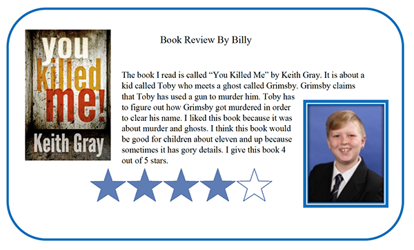 Book Review by Billy