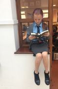 GA Reading in an unusual place 4