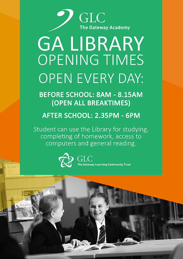 GA Library Opening Times