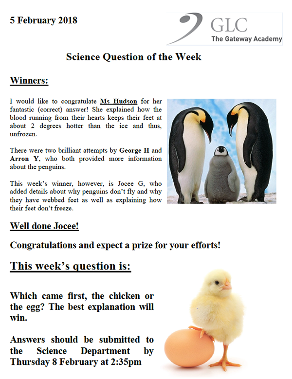 Science Question 060218