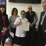 Cookery student, Sasha, through to the National Finals!...