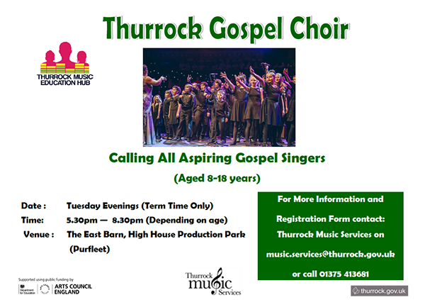 TMS Gospel Choir 8-18 yrs