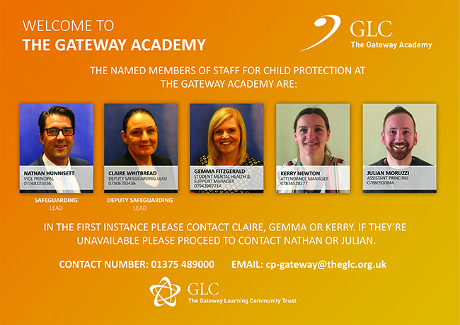 GA Child Protection Officers sign