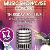 Music Showcase Concert Coming Soon
