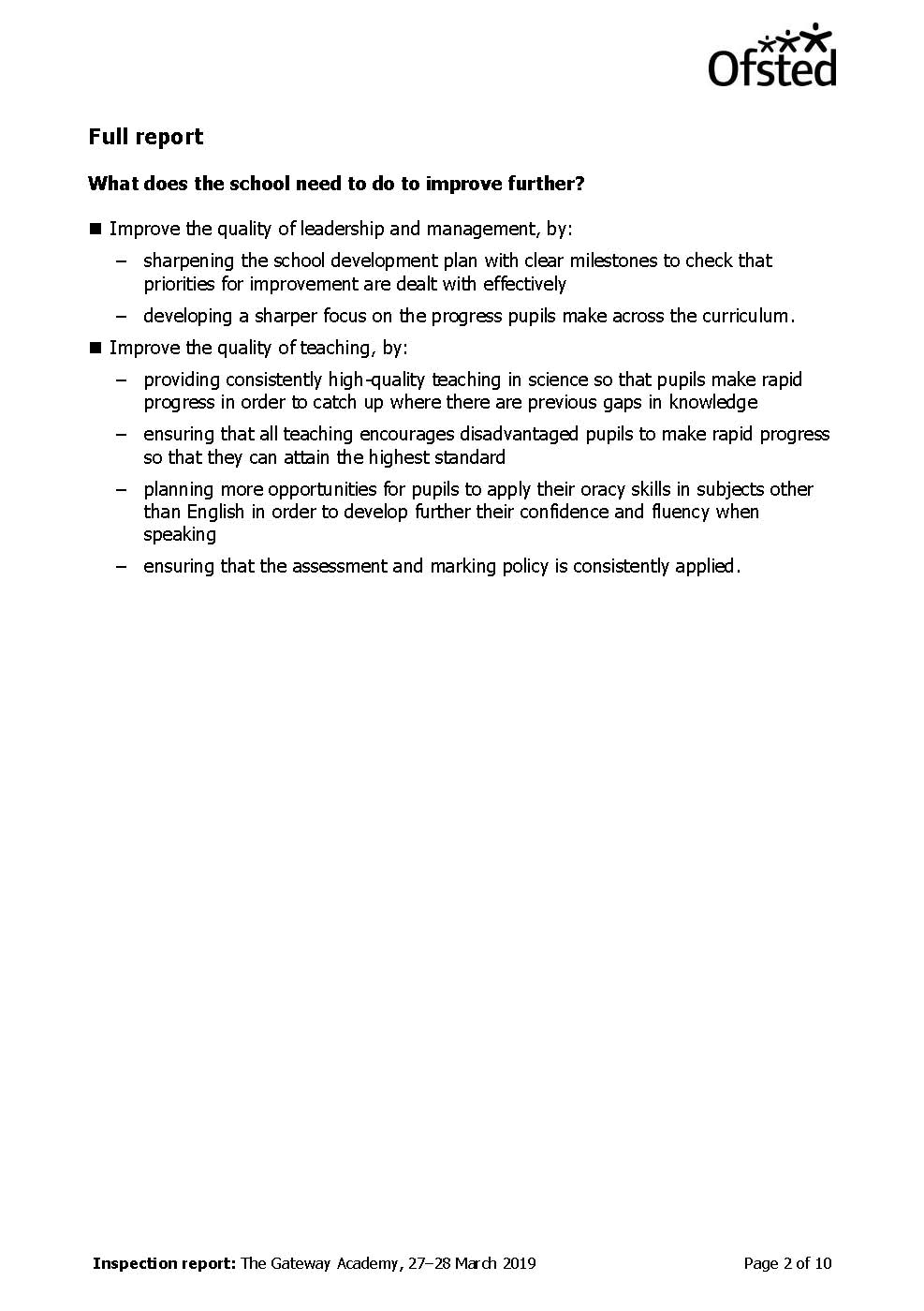 The Gateway Aacdemy Ofsted Report April 2019_Page_02