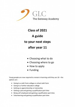 Next Steps guide 2021