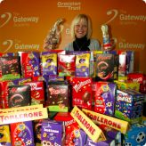 Staff collect an egg-xtra lot of Easter Eggs...